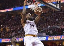 LeBron James got into a confrontation with a fan and…