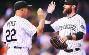 Watch: This 2 Year-Old is in LOVE with Charlie Blackmon!