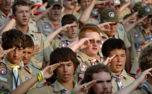 Boy Scout leader apologizes for Trump's political rhetoric