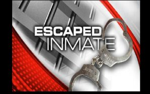 Inmate escapes after kicking window out of patrol car