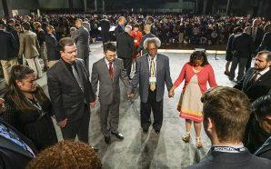 A black church went in search of a white church…