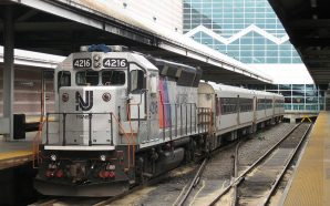 New Jersey Transit train derails at NY Penn Station!