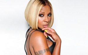 Video: See Mary J Blige rock all-leather!!