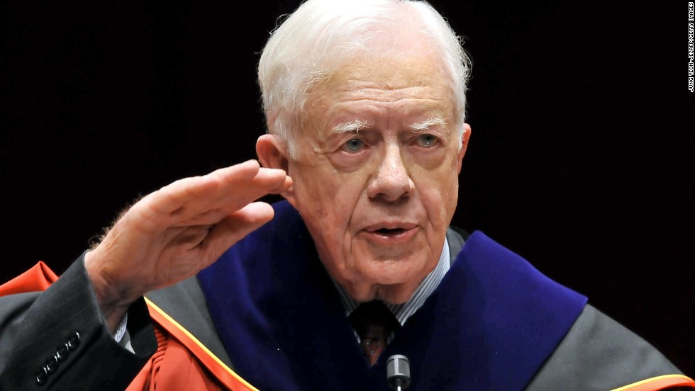 Former President Jimmy Carter sends message of morality to President Trump!
