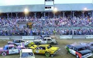 Demo derby driver gave deputy concussion after scuffle!