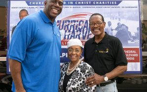 Magic Johnson, Bishop Charles Blake and Stevie Wonder's Came Together!