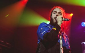 Post Malone crashes and burns after failed stage dive!