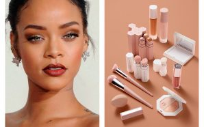 Rihanna Launches FENTY Line in Paris!