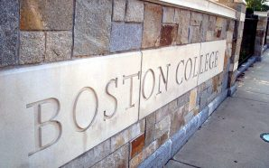 Boston College Students Walk Out Of Class To Protest Racist…