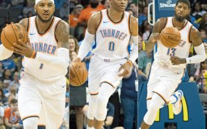 Carmelo Anthony says 'no more Knicks talk' after OKC debut
