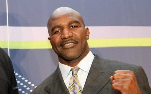 Evander Holyfield speaks at Georgia State Capitol to end gang…