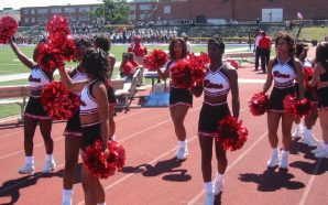Howard University Cheerleaders are taking a knee!