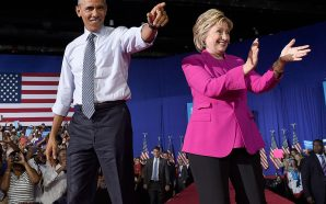 Hillary Clinton: Obama's record made it hard to run on…