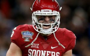 OU's Baker Mayfield breaks down in tears during news conference!