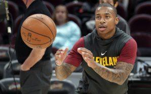 Isaiah Thomas plays 4-on-4, Cavaliers' All-Star nearing return
