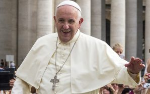 The Pope married two flight attendants in an impromptu midair…