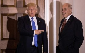 Trump pushes back against John Kelly over border wall