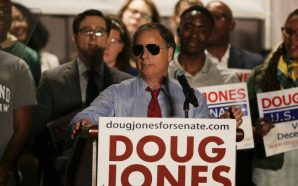 Doug Jones Comes Under Fire For Siding With Republicans In…