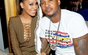 Carmelo Anthony sent a message to his wife La La!