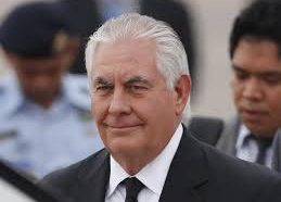 Fired Tillerson stated he is praying for the country…What could…