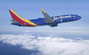 Passengers on Southwest plane shown with oxygen mask on wrong