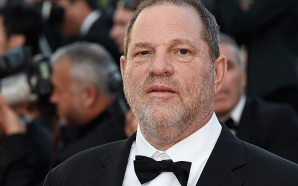 Look what Harvey Weinstein takes into the police station