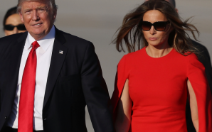 President gives an update on First Lady Melania Trump