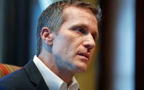 Missouri governor vows he won't quit amid allegations