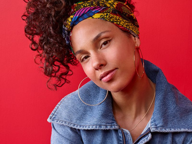 Alicia Keys Announced Her Latest Initiative for Women in