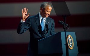 For the 1st time post-presidency Former President Barack Obama back…