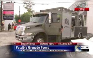 Bomb squad retrieves grenade from rental car in Buckhead In…