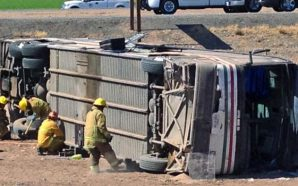 Bus Overturns In California Headed To Vegas 25 Taken To…
