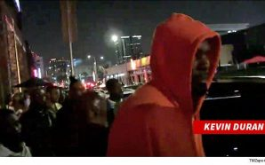 Watch: Lebron James Hit The Hollywood Streets Last Night Partying…