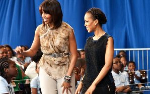 Michelle Obama And Kerry Washington Have A #Blackgirlmagic Meeting In…