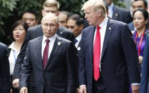 Watch Now: Trump and Putin summit now underway