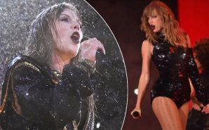 "Taylor Swift Was Getting Soaked At Her ""Reputation"" Tour Last…"