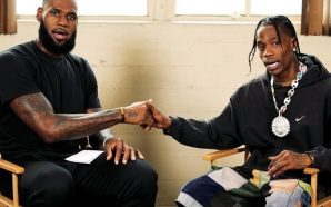 Video: Check out what Travis Scott & LeBron James are…