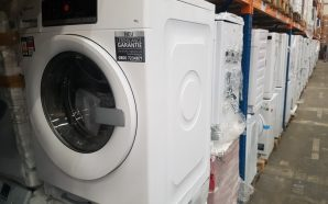High school principal builds laundry room for students to combat…