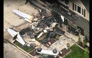 Man runs plane into his own home trying to kill…