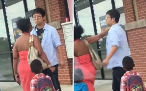 This Asian Store Owner Of A Beauty Supply Store Punch…