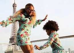 Behind the Scenes with Blu Ivy and Beyonce at Vogue…