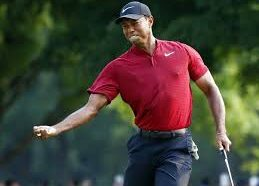 Tiger Woods comes in second but is still number one!