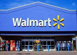 Walmart checkout argument ends in four shot !