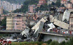 At least 35 killed as Italian highway bridge collapses!