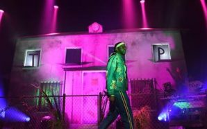Celebrities file in for 2 Chainz's 'The Haunted Pink Trap…