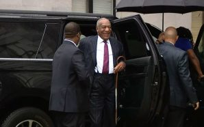 Bill Cosby All Smiles As He Enters His Sentencing Hearing.…