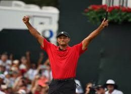 Tiger Woods is a winner again!