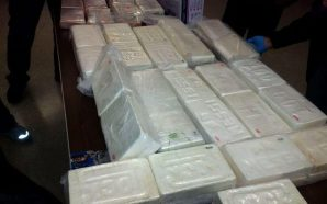 Prison guards find $17 million of cocaine in box of…