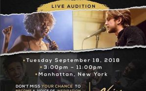 NATIONWIDE TALENT CONTEST AND LIVE AUDITIONS