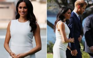 First Look at Meghan Markle's Baby Bump!